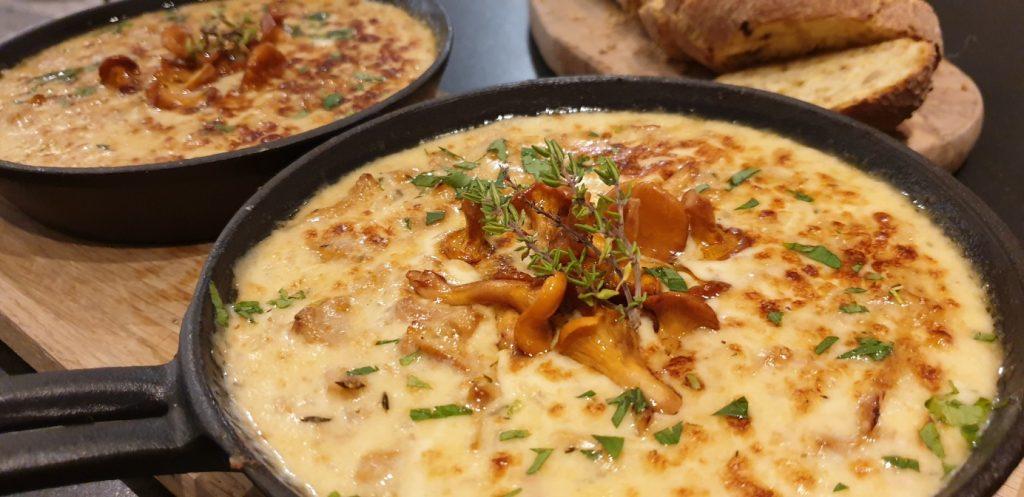 kantarell fondue